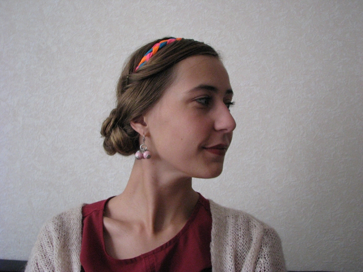 chignon bas tresse - final profil