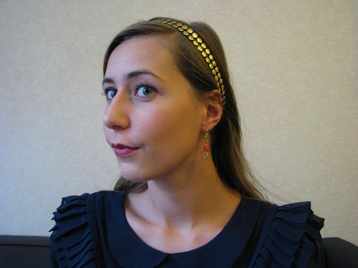 headband -  step 2