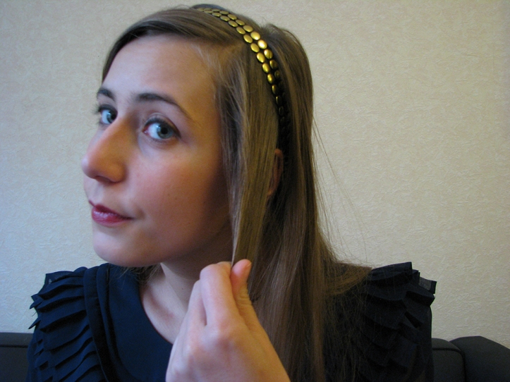 headband -  step 3