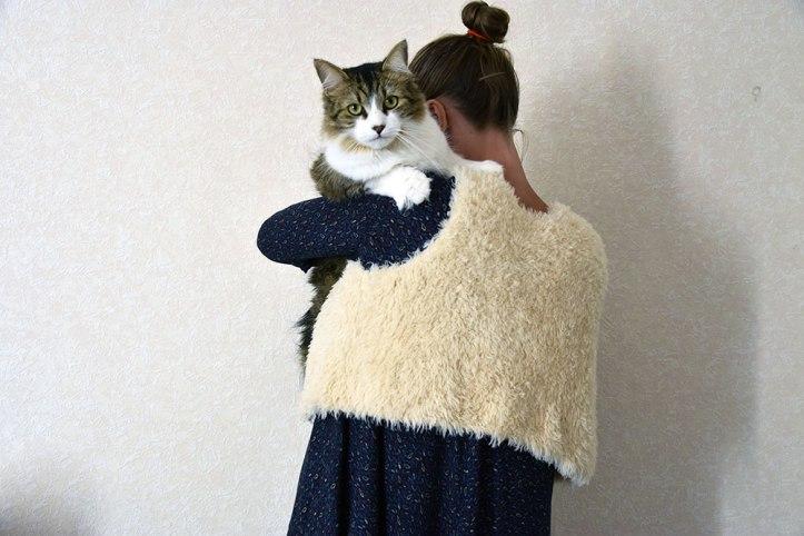 gilet-mouton-tricoté